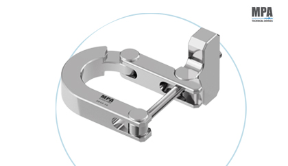 Stainless steel Sterile Tools Clamp for cleanrooms by MPA