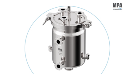 Pharmaceutical Tank for Sterile Filling Liquids Machines by MPA