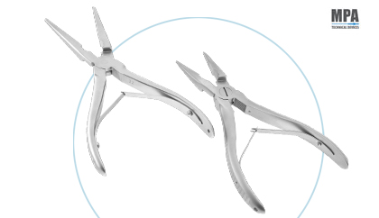 Flat Nose Plier for Sterile - Aseptic Pharmaceutical Area