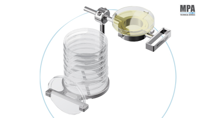 Holder for Bacterial Culture - Petri Dishes by Mpa