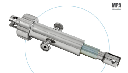 Steel dosing Pump for Romaco Machine by MPA - pharmaceutical sector